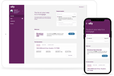 Home Loans Rates Get Pre Approved Online In Minutes Ally