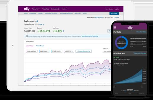 ally bank investing platform