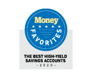 Named best high-yield savings account of 2020 by money favorites