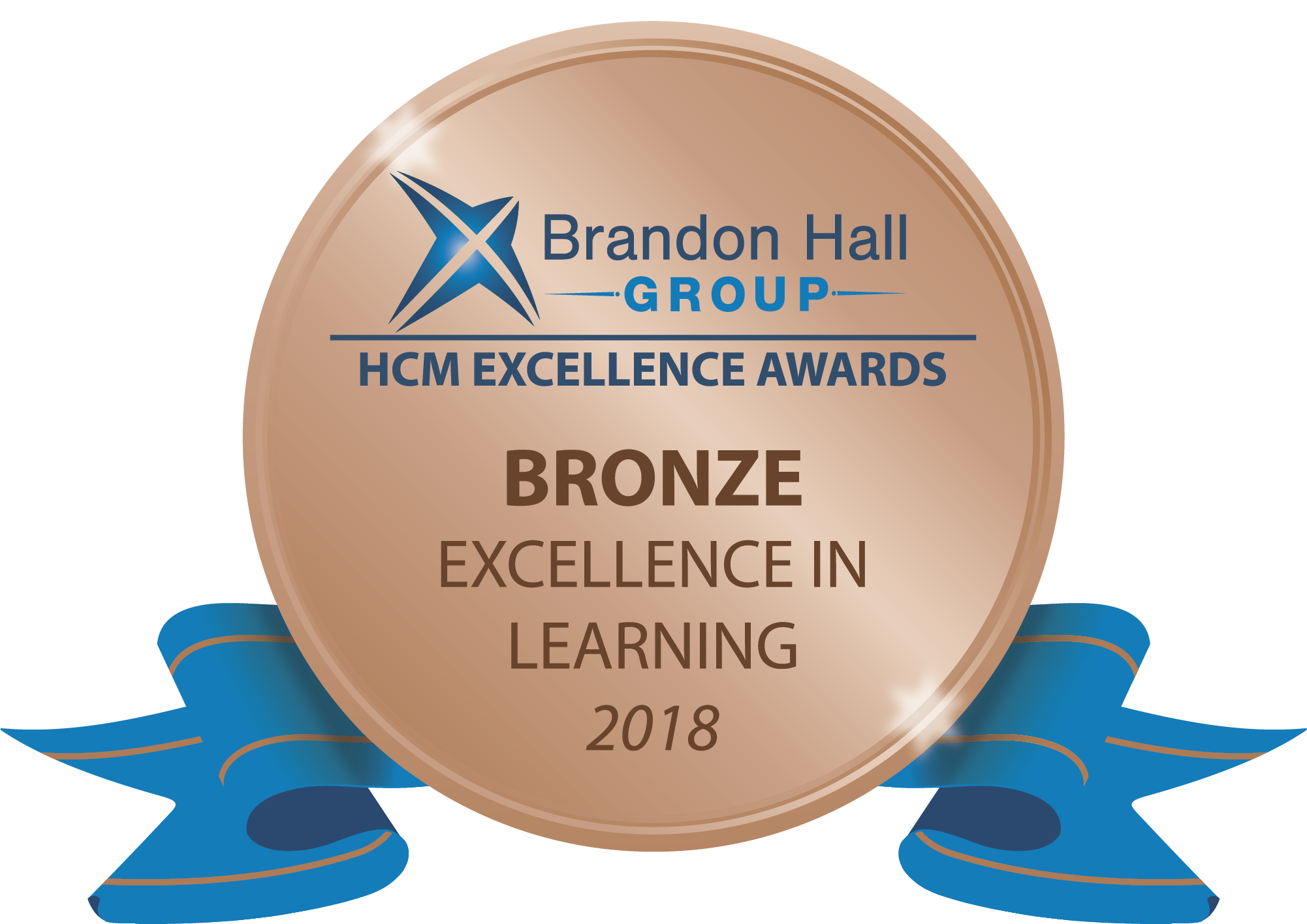 Brandon Hall Group HCM Excellence Awards Bronze Excellence in Learning 2018