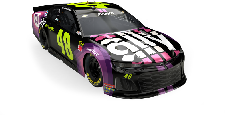 Jimmie Johnson's #48 race car