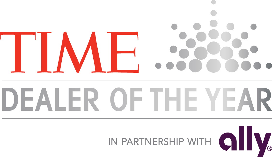 Time dealer of the year award in partnership with Ally