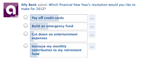 Ally Aks: What's your Financial Resolution?