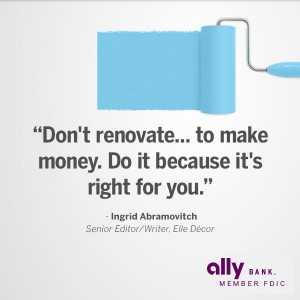 Home Renovations: Elle Décor Reveals How to Make the Most of Your Money