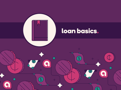 """Loan basics"" next to guidebook icon"