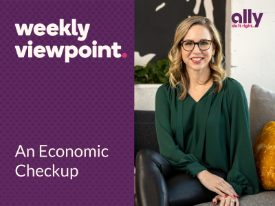 Weekly Viewpoint: An Economic Checkup with headshot of Lindsey Bell