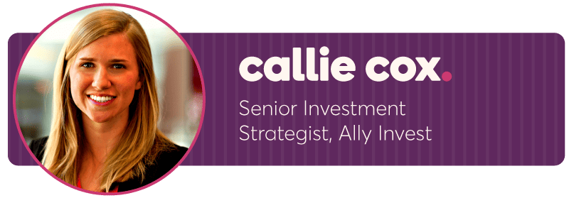 Headshot of Callie Cox, senior investment strategist at Ally Invest