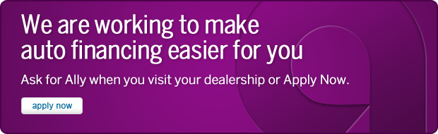 Ally Auto. Welcome to Ally, previously GMAC. We've created a better online experience to server your financing needs. Welcome to Ally.