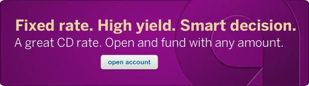 Fixed rate. High yield. Smart decision. A high fixed CD rate. No minimum deposit. Click to open account.