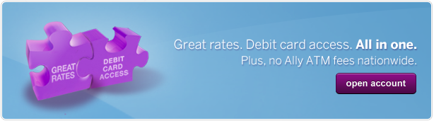 Check card convenience. High-rate savings. No ATM fees. No minimum balance. No monthly fee. Click to open account.