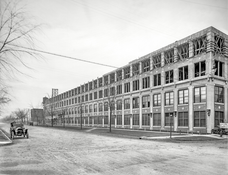 Detroit Car Factory – 1910s