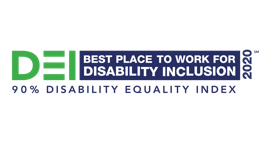 2020 Best Place to Work for Disability Inclusion Awarded by Disability Equality Index