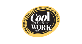 Cool Places to Work 2017, Awarded by Crain's Detroit