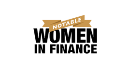 2018 Notable Women in Finance, Awarded by Crain's Detroit.