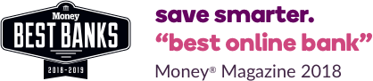 Save smarter. Awarded best online bank. Money Magazine 2018.