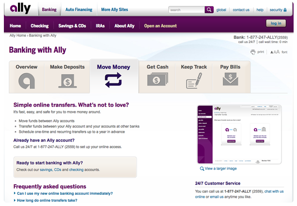 ally bank joint account