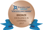 Brandon Hall Group MCM Excellence Awards Bronze Excellence in Learning 2017