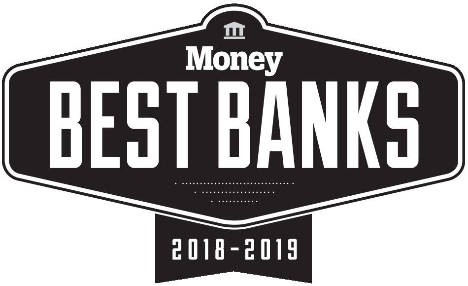 Named the Best Online Bank by Money Magazine in 2018