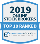 Top 10 ranked online stock brokers for 2019 by Consumers Advocate